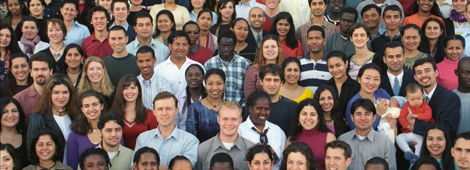 Bahá'ís from all over the world.